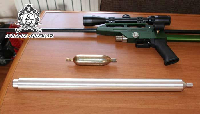 کپسول کامپوزیت تفنگ pcp
